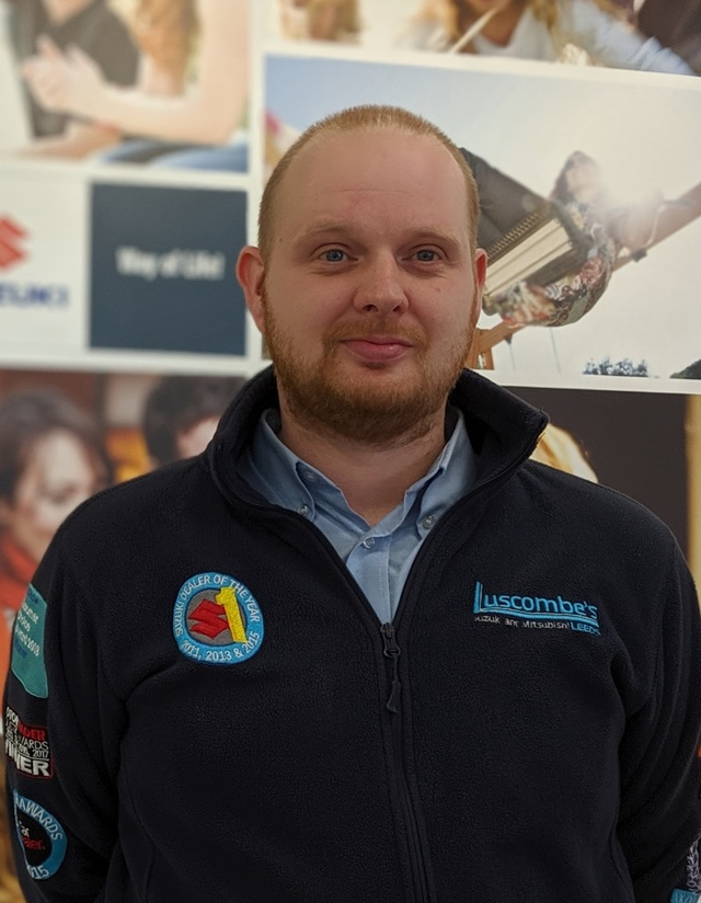 Simon Price Sales Executive Luscombe Suzuki Leeds
