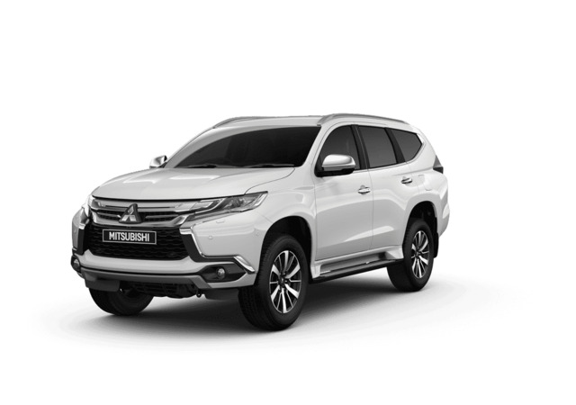 New Mitsubishi Shogun Sport Polar White Studio