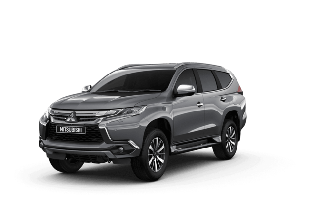 New Mitsubishi Shogun Sport Atlantic Grey Studio