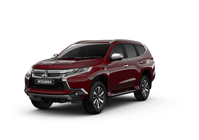New Mitsubishi Shogun Sport I mperial Red Studio