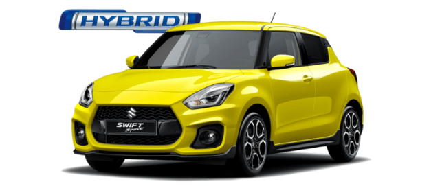 New 2020 Suzuki Swift Sport 1.4 Boosterjet Hybrid in Pure White