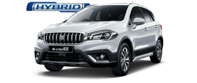 Suzuki SX4 S-Cross Hybrid in Silky Silver Metallic