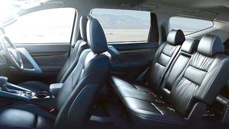 New Mitsubishi Shogun Sport Leather Interior