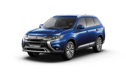 New Mitsubishi Outlander 2.0 Exceed Tanzanite Blue Studio shot