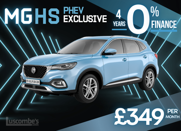 HS PHEV plug in Exclusive from only £32,495 and take 4 years 0% Finance